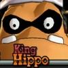 king hippo face