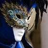 Sarah: blue mask