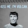 kiss a vulcan