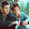 miss california.: [spn] winchesters - a job well done.