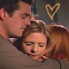 buffy - buffy willow and xander hug