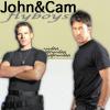 skieswideopen: John/Cam flyboys