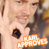 Actor-KUrban-Karl approves