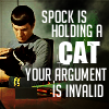 thedeadparrot: spock cat