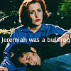 jessicalovescsi: mulder and scully: jeremiah was a bull f