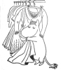 glitterboy - the dark lord of washing: Moomin - clothes