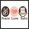 peace love bake