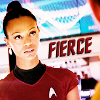 uhura: fierce