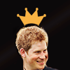 prince harry; crowned prince