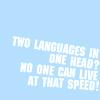Eddie Izzard - Two languages