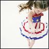txtls: patriotic twirl girl
