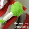 Little and broken, but still good: Doctor Who - Decorative Vegetable