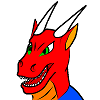 Drayo drax head digital dragon male