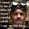 Doctor Horrible - Need to be more carefu