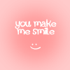 Elle Blessingway: Text: You Make Me Smile