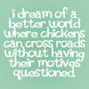 Elle Blessingway: Text: Dream of World Chickens