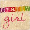 Loriel Eris: crafty girl - brown paper background