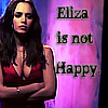 Laney: Eliza is not happy