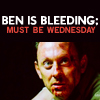 Steph: ben's bleeding