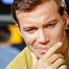 Kirk thinking