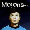 Bones MORONS
