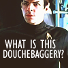 Spock/douchebaggery by _kissmygrass