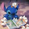Read, Book (Stitch)