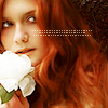 Why be normal?: hp - bonnie wright w/ flower