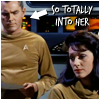 ljc: star trek (pike/number one so into her)