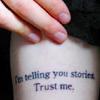 telling stories - trust me