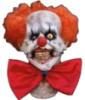 клоун на белом