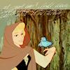 m // princess + bird = disney
