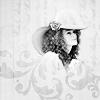 kiteflier: Duchess- floral bw
