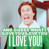 Elf: I LOVE YOOOOOU