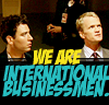 himym: international businessmen