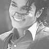 MJ BW smile