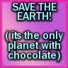 earth, chocolate