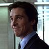Bruce Wayne: smirk