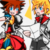 Ling: Sora x Roxas; with you by my side