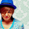 gd & blue hat