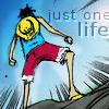 Luffy standing ground