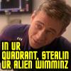 stealing wimminz