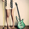 stock   talk about girls who play guitar