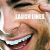 Chris Pine -- laugh lines
