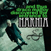 daftfear: Draco Narnia