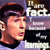 Spock- It are fact