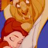 beauty and the beast hug
