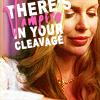 Nikki: true blood: pam vamp cleavage