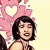 Heather: [nm] karma makes hearts for dani