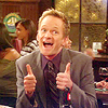 Sarah: Barney: Thumbs Up
